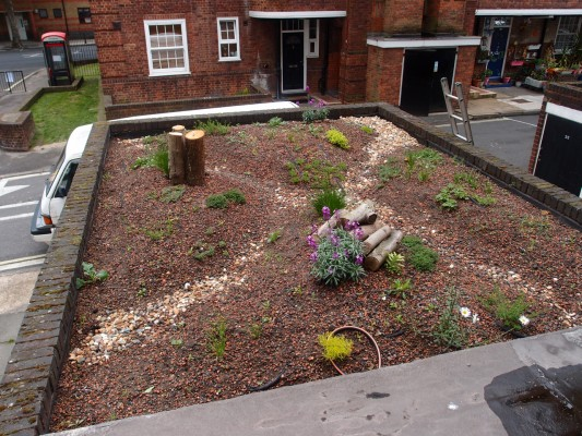 Social housing green infrastructure