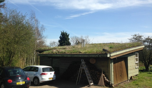 Green roof house, Essex