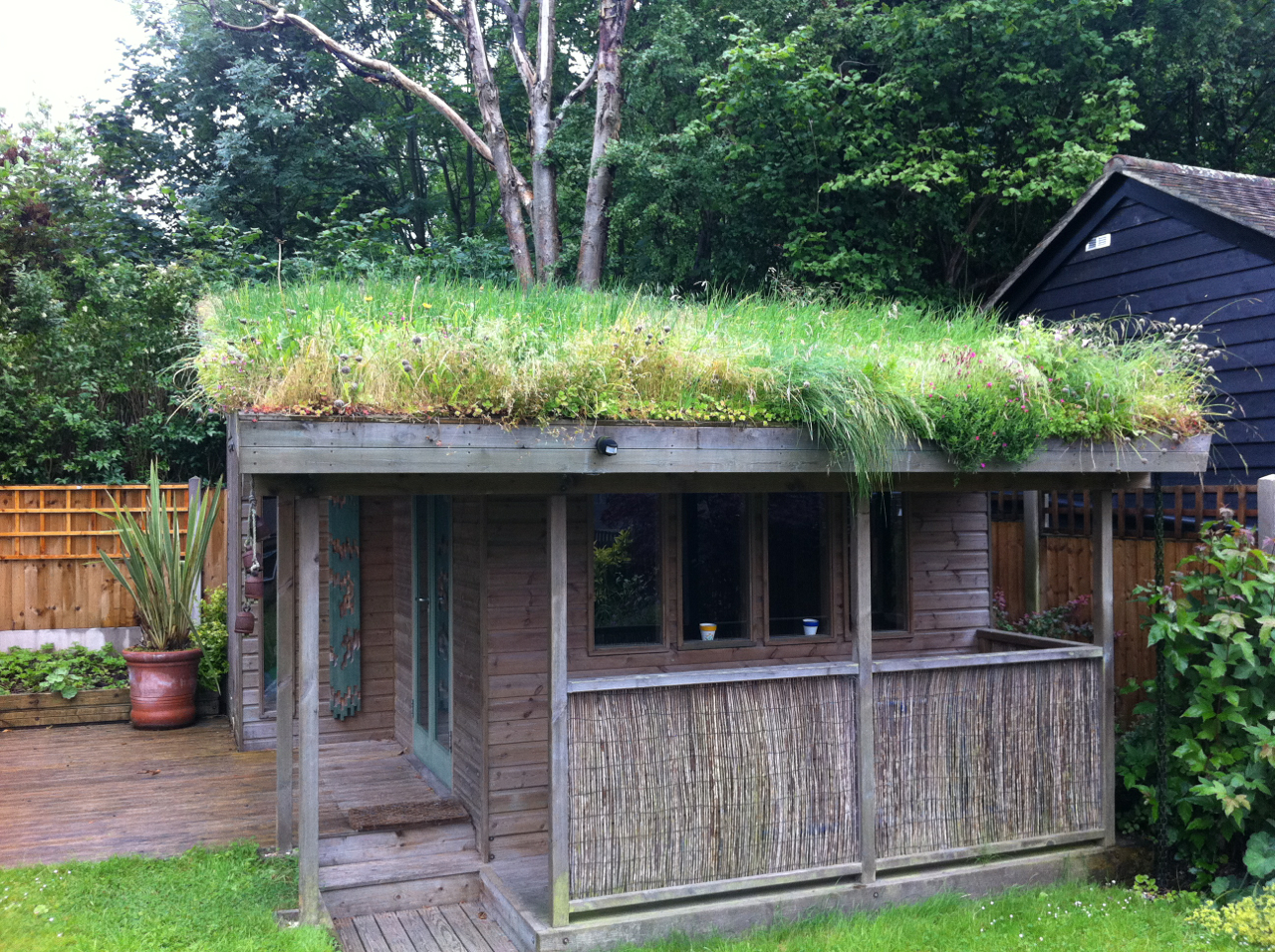 Diy Green Roof Building Guide By John Little And Dusty Gedge